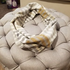 SALE Striped infinity scarf